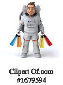 Astronaut Clipart #1679594 by Julos