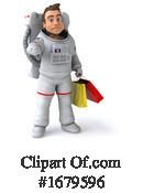 Astronaut Clipart #1679596 by Julos