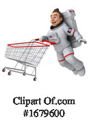 Astronaut Clipart #1679600 by Julos