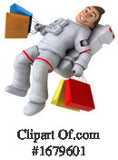 Astronaut Clipart #1679601 by Julos