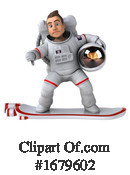Astronaut Clipart #1679602 by Julos