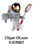 Astronaut Clipart #1679607 by Julos