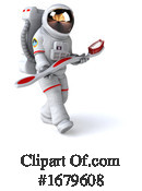 Astronaut Clipart #1679608 by Julos