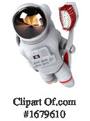 Astronaut Clipart #1679610 by Julos