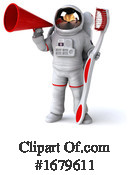 Astronaut Clipart #1679611 by Julos