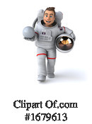 Astronaut Clipart #1679613 by Julos