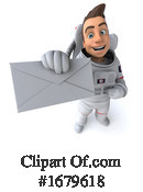 Astronaut Clipart #1679618 by Julos