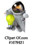 Astronaut Clipart #1679851 by Julos