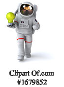 Astronaut Clipart #1679852 by Julos