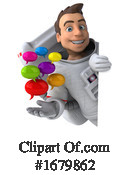 Astronaut Clipart #1679862 by Julos