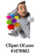Astronaut Clipart #1679863 by Julos