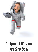 Astronaut Clipart #1679868 by Julos