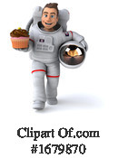 Astronaut Clipart #1679870 by Julos