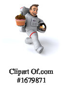 Astronaut Clipart #1679871 by Julos
