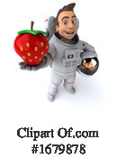 Astronaut Clipart #1679878 by Julos