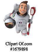 Astronaut Clipart #1679898 by Julos