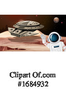 Astronaut Clipart #1684932 by Graphics RF