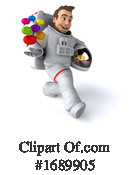 Astronaut Clipart #1689905 by Julos