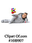 Astronaut Clipart #1689907 by Julos