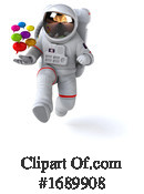 Astronaut Clipart #1689908 by Julos