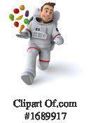 Astronaut Clipart #1689917 by Julos