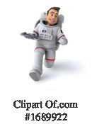 Astronaut Clipart #1689922 by Julos