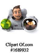 Astronaut Clipart #1689932 by Julos