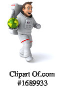 Astronaut Clipart #1689933 by Julos