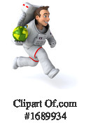 Astronaut Clipart #1689934 by Julos