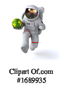 Astronaut Clipart #1689935 by Julos