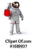 Astronaut Clipart #1689937 by Julos