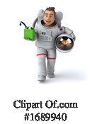 Astronaut Clipart #1689940 by Julos