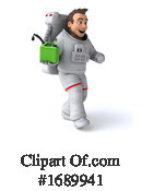 Astronaut Clipart #1689941 by Julos