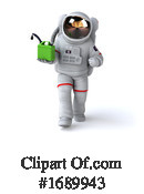 Astronaut Clipart #1689943 by Julos