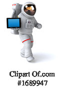 Astronaut Clipart #1689947 by Julos