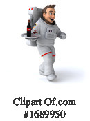 Astronaut Clipart #1689950 by Julos