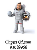 Astronaut Clipart #1689956 by Julos