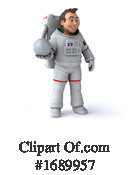 Astronaut Clipart #1689957 by Julos
