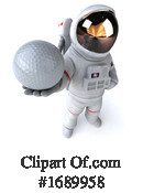 Astronaut Clipart #1689958 by Julos
