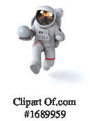 Astronaut Clipart #1689959 by Julos