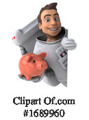 Astronaut Clipart #1689960 by Julos