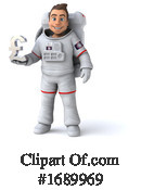 Astronaut Clipart #1689969 by Julos