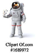 Astronaut Clipart #1689972 by Julos