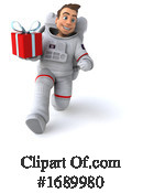 Astronaut Clipart #1689980 by Julos