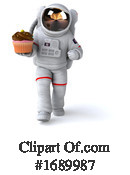 Astronaut Clipart #1689987 by Julos