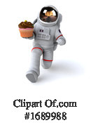 Astronaut Clipart #1689988 by Julos