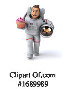 Astronaut Clipart #1689989 by Julos