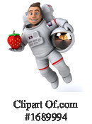Astronaut Clipart #1689994 by Julos