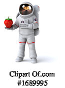 Astronaut Clipart #1689995 by Julos
