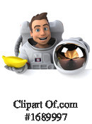 Astronaut Clipart #1689997 by Julos